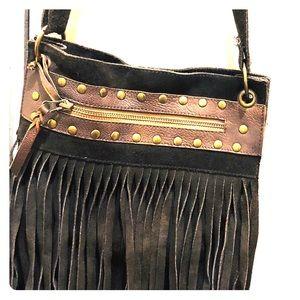Sundance Catalogue Suede Leather pocketbook